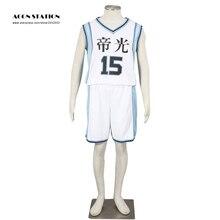 Vente chaude Costume blanc Kuroko pas panier Kuroko Basket-ball Tetsuya Kuroko SEIRIN maillot Cosplay pour enfant et adulte Costume