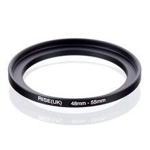 Taille dorigine (UK) 48mm-55mm 48-55mm 48 à 55 adaptateur de filtre à anneau accéléré noir
