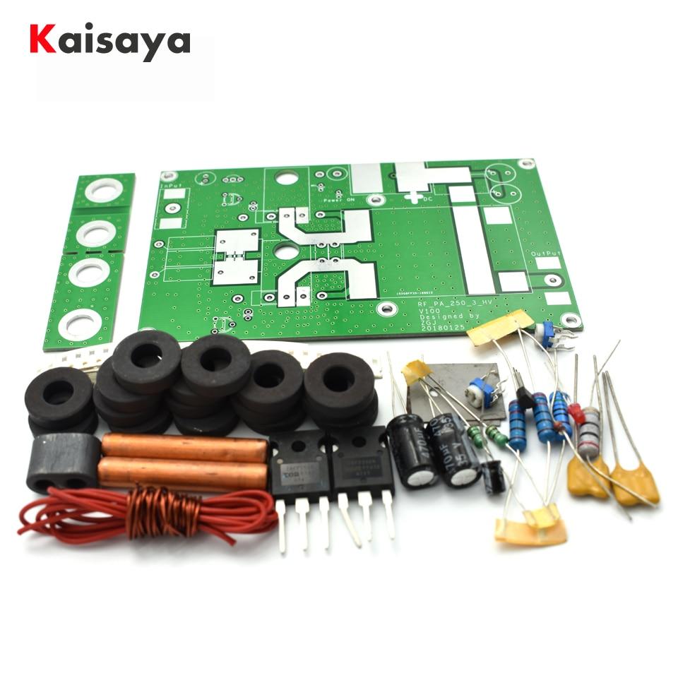 180W lineal placa amplificadora de potencia para intercomunicador transceptor Radio HF FM jamón DC12-24V amp DIY kits de F2-003
