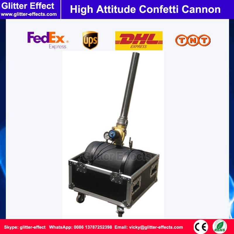 DJ escenario efecto especial boda celebración 2 pulgadas tubo de alta actitud confeti cañón lanzador