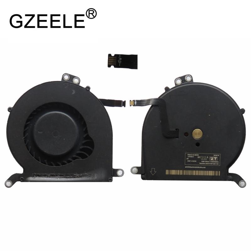 "Nuevo ventilador de refrigeración para ordenador portátil GZEELE para Apple para MacBook AIR 13 ""A1369 A1466 MG50050V1-C082-S9A A1369 2010 2011 A1466 2012-2015"