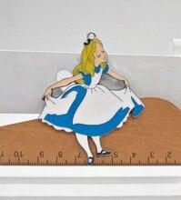 10 шт. Алиса в стране чудес принцесса Шарм ожерелье/браслет/серьги Подвески ручная работа аксессуары для ювелирных изделий подарок