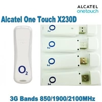 lot of 200pcs alcatel onetouch x230d be online all the time 3g internet key