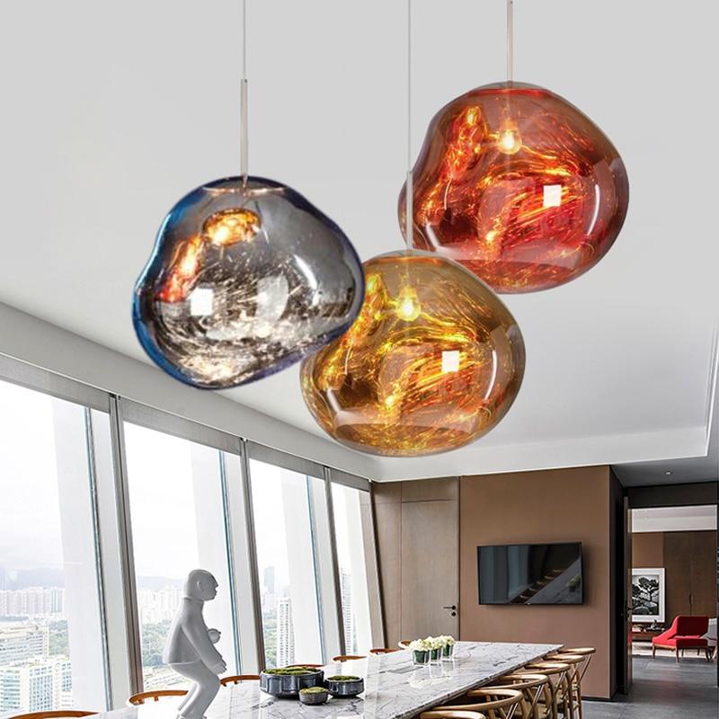 magic lava lamparas de techo colgante moderna e27 led pendant Lights for hanglampen voor eetkamer living room hanging lamp