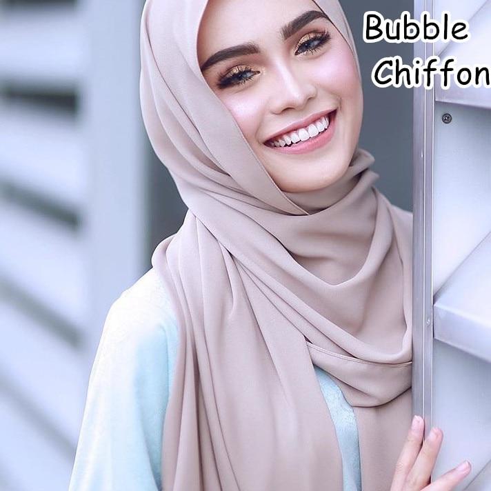 M23  Hot sale  plain bubble chiffon hijab scarf shawl wrap  lady headband women scarf/scarves 180*75cm