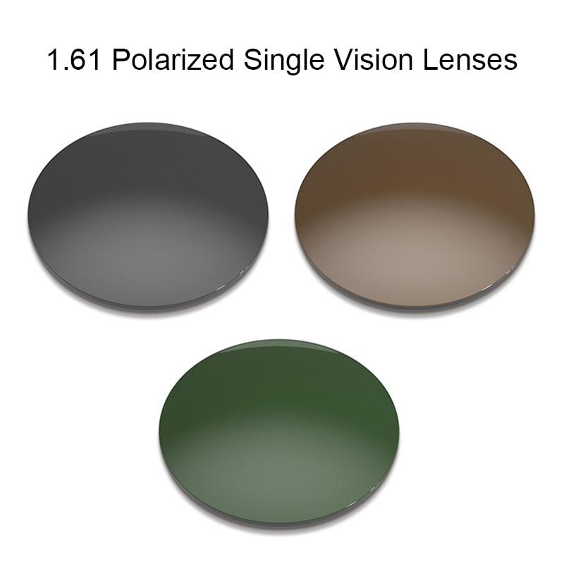1.61 CR-39 Polarized Prescription Optical Lenses for Driving UV400 Anti-Glare Polarize Lens Single Vision Lens for Shades