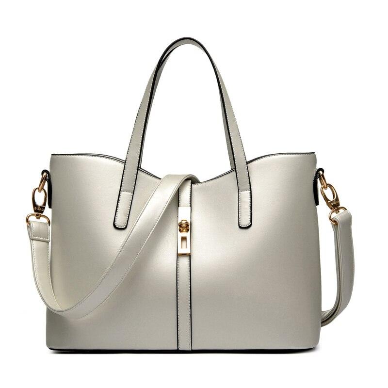 Bolsos de mano Clásicos de cuero PU de marca a la moda, bolsos de mano, bolsos de hombro, bolsos grandes de mensajero para mujer