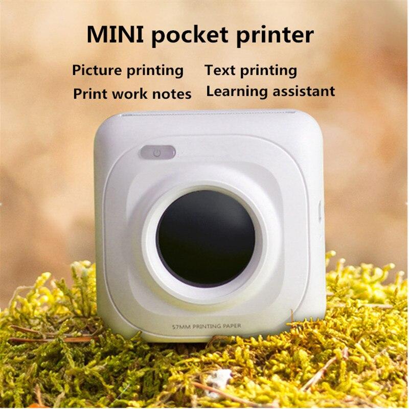 NEW upgrade portable printer USB/Bluetooth Thermal Printer Photo Picture Mini Printer iOS/Android and Windows