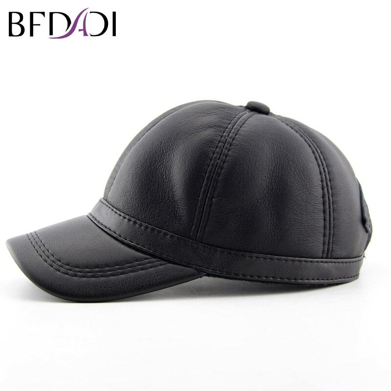BFDADI-casquette de Baseball en Imitation de peau de mouton pour motard, accessoire pour les Sports de plein air, chaud, grande taille 60 cm