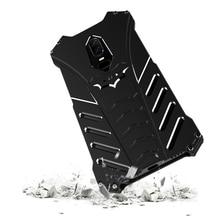 Batman Fundas dla Oneplus 6 Case luksusowa aluminiowa metalowa rama zderzaka pancerz ochronna tylna pokrywa dla Oneplus 5t 1 + 6 Capa