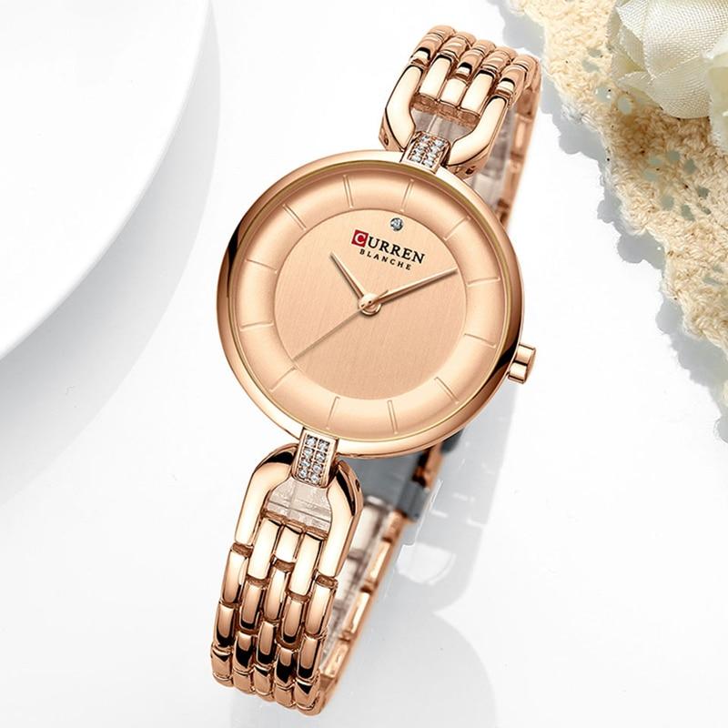 CURREN New Women Luxury Brand Watch Waterproof Fashion Lady Wristwatch for Woman Clock Ladies Quartz Watches Relogio Feminino enlarge