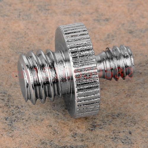 "5 uds adaptador de Metal macho 1/4 ""a macho 3/8"" acoplador de tornillos de rosca 1/4-3/8 anillo adaptador para DSLR trípode monopié"