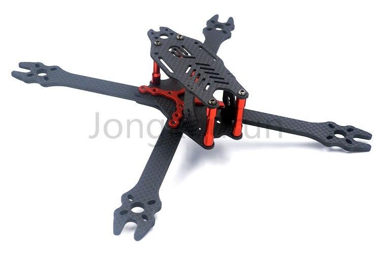 DIY mini FPV F2 mito 210 pure carbon fiber 210mm frame unassembled for DIY Racing drone quadcopter