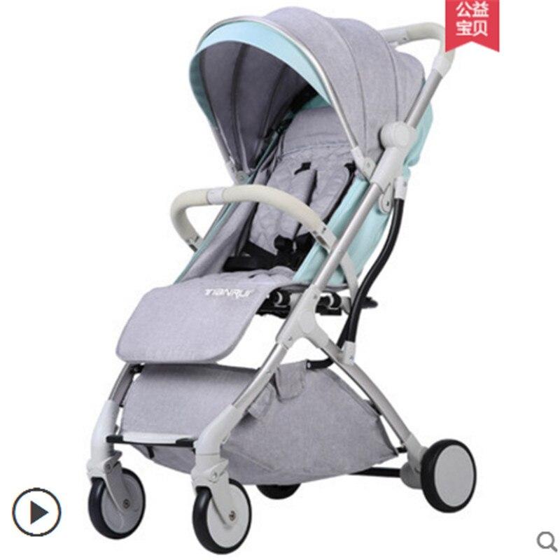 Baby Stroller Plane Lightweight Portable Travelling Pram Children Pushchair 4 FREE GIFTS baby car