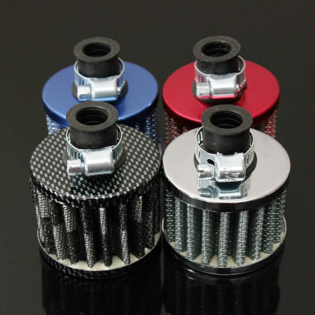 12 мм набор фильтров для подачи масла и холодного воздуха кривошипный чехол для вентиляционного отверстия с высокой вентиляционной индукци...