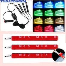 Car Decorative LED Lamps Car Interior Light FOR BYD F3 F0 S6 S7 E5 E6 M6 G3 F3 G5 T3 13 lifan x60 X50 620 320 520 125CC solano