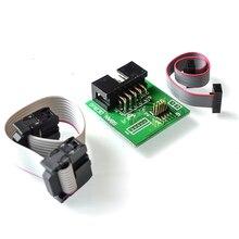 BLE 4,0 Bluetooth 4,0 CC2540 zigbee CC2531 usb dongler Sniffer PROGRAMADOR usb de Downloader Cable de programación conector de placa