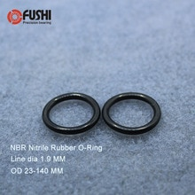 CS1.9mm NBR Kauçuk O RING OD 23/24/25/26/27/28/29/ 30/31/32/33/34/35/36*1.9mm O-ring Nitril conta contası Kalınlığı 1.9mm ORing
