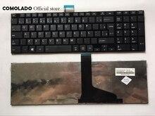 BR teclado brasileño para TOSHIBA Satellite L50 L50-A L70 L75 C50 C50D C50-A S50 S55 C70 C75 teclado negro diseño BR
