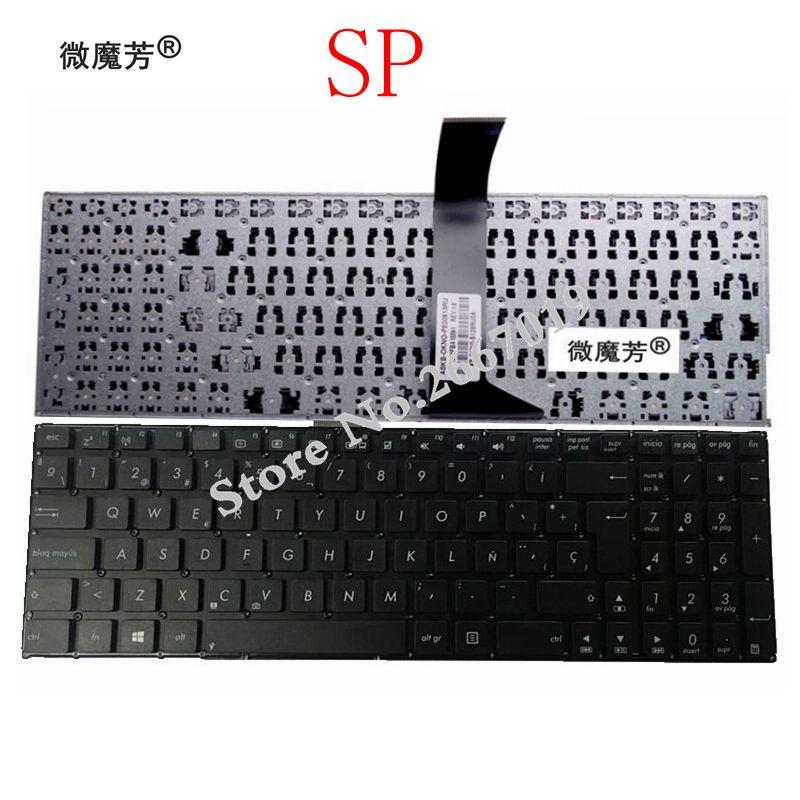 Spainsh Клавиатура для ноутбука Asus K550 A550 Y581 X550V X552C X550 X550C X550L F501 F501A SP Клавиатура