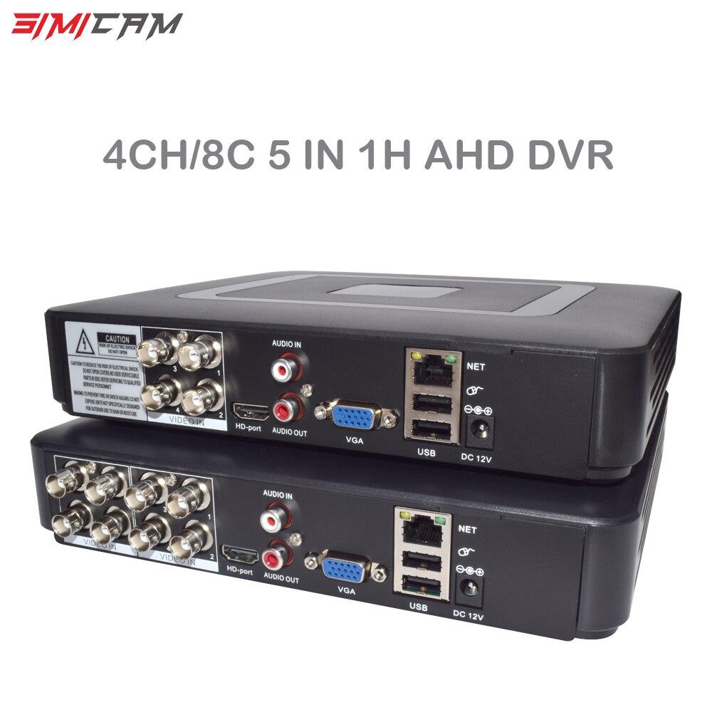 مسجل فيديو صغير DVR XVR AHD ، 8 قنوات ، 4 قنوات ، 6 في 1 ، هجين ، 5 ميجابكسل ، 1080 بكسل لمجموعات الدوائر التلفزيونية المغلقة ، نظام مراقبة أمان الكاميرا ...