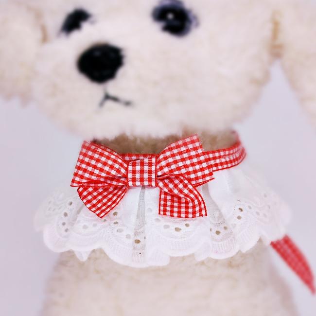 Écharpe Saliva pour animaux   Écharpe chien, bijoux chat en peluche, écharpe princesse Reese, écharpe papillon, collier pour animaux
