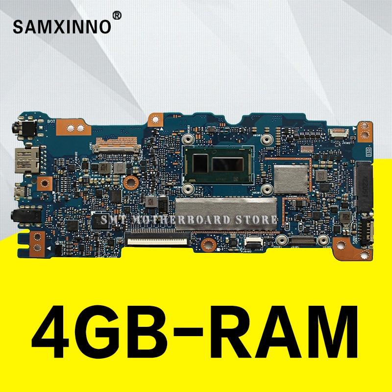 Placa base UX305FA con 4 GB de RAM, para For Asus UX305 UX305F UX305FA U305F, placa base con M5Y10c UX305FA U305F, pruebas de 100%