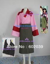 Inuyasha Sango Kimono cosplay costume include arm cover