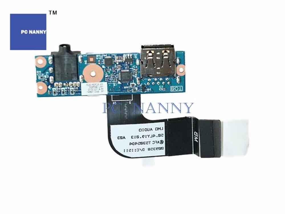 ПК няня аудио Subcard USB порт плата для Lenovo Thinkpad X1 Carbon MT 20A7 20A8 20BS 20BT серии, FRU 04X5600 00HN985 работает