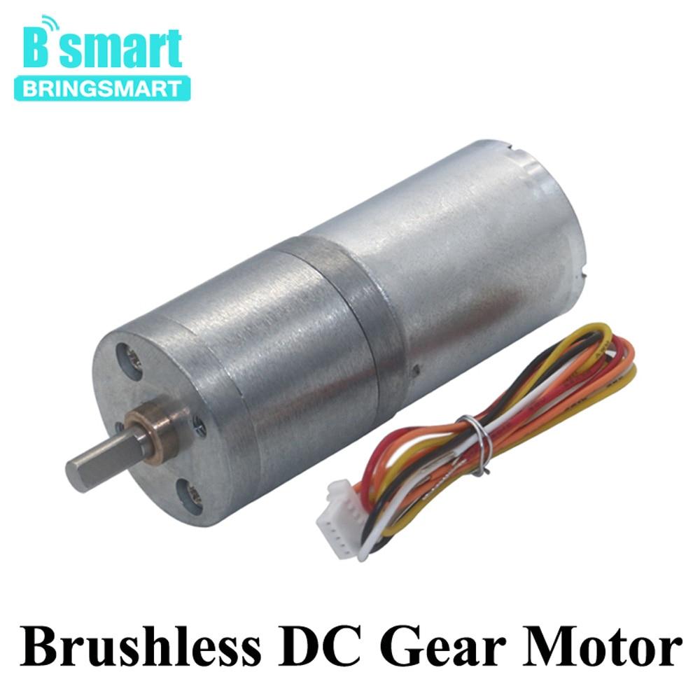 DC Bürstenlosen Motor 12V 24V Getriebe Motor 14-1550RPM Mit Brems Funktion Reverse Motor CW/ CCW Und Geschwindigkeit Control BLDC