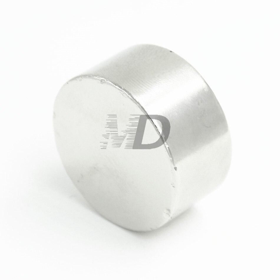 2 piezas de neodimio N50 Dia 30mm X 10mm imanes fuertes disco pequeño NdFeB tierra rara para modelos de artesanías imán para nevera de 30x10mm
