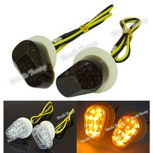 Waase-clignotant indicateur lumineux à montage affleurant   Pour Yamaha YZF R1 R6 R6S FZ1S FAZER 1000 TMAX XP500 FZ8 FZ1 FZ10