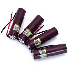 Liitokala  new HG2 18650 3000mAh battery 18650 HG2 3.6V download 20A, dedicated + silica gel DIY Cable