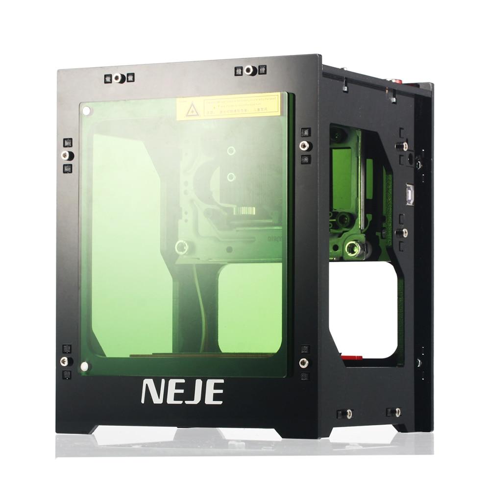 NEJE DK-8-KZ, 1500/2000/3000mW, profesional, bricolaje, escritorio, Mini CNC, cortador de grabado láser, enrutador de Cortadora De Madera