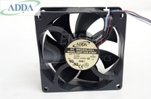 Pour ADDA 8 cm ventilateur pour ADDA 12 V 0.65A AD0812VB-A7BGP 8025 80x80x25mm serveur onduleur axial refroidisseur refroidissement pwm ventilateur