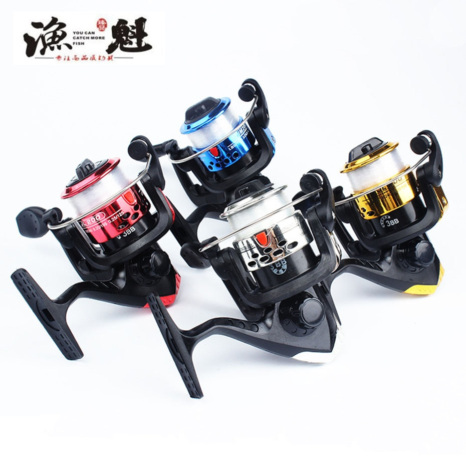 YUKUI brand Folding Spinning Fishing Reels Wheel Spinning Reel Pardew Lure Wheel Vessel Bait Casting Flying Fishing Trolling