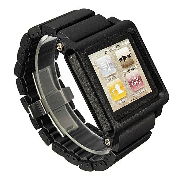 Практичные алюминиевые ремешки для часов, замена нескольких касаний для iPod Nano 6-го нового