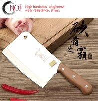 yamyck stainless steel 5 chrome kitchen knives cooking tools dual slicing vegetablechoppingchinese cleaverchef fruit cutter
