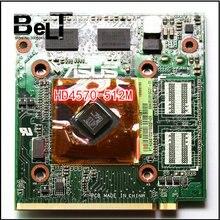 لكارت الفيديو Asus K50AB K51AB K70AB X70AB K70AF X70AF X66IC المحمول HD4570 HD 4570 512MB VAG
