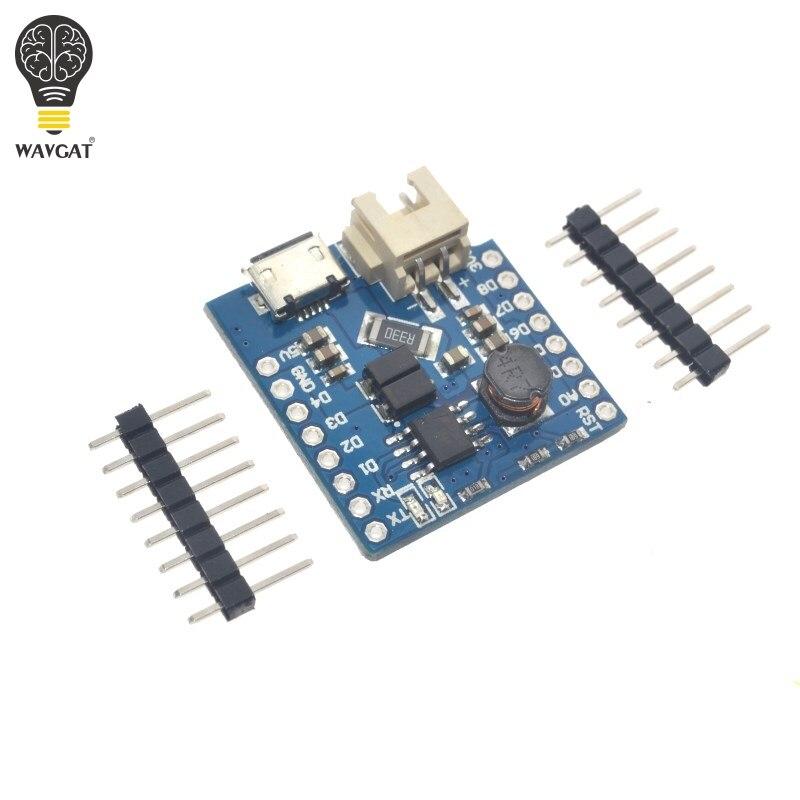 Защита аккумулятора V1.1.0 для WAVGAT D1 mini с одним литиевым аккумулятором