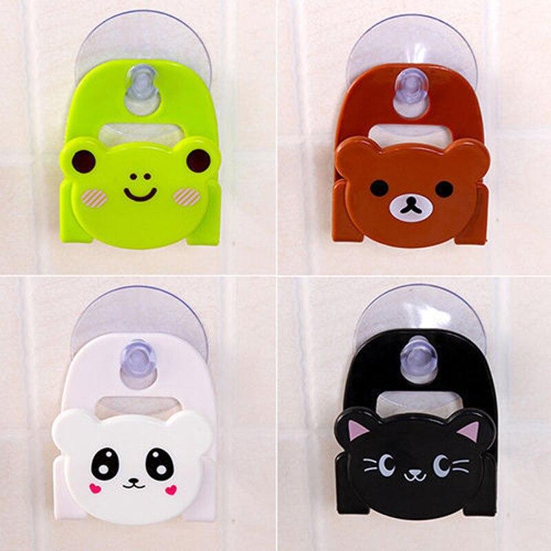 Горячая Распродажа милый мультяшный медведь настенный тип коробка для хранения ванны животное кошка мыло Бар держатель Кухонные инструменты губка сливная полка, мешок