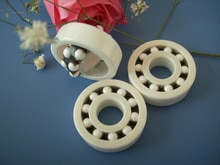 Full Ceramic Bearing 1206 ZrO2 30x62x16 mm Self-aligning ball bearings Non-magnetic Insulating PTFE Cage ABEC 3