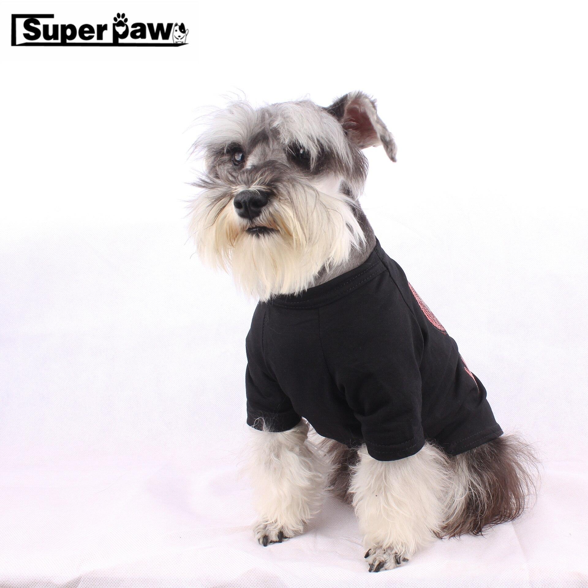 Fashion Pet Summer T-shirt Vest Cat Dog Clothes Cats Dogs Pets Clothing Apparel Schnauzer French Bulldog Chihuahua Costume GKC05