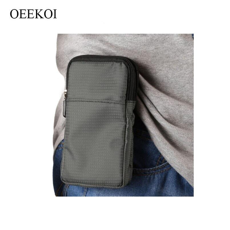 OEEKOI Multi-Function Belt Clip Sport Bag Pouch Case for Digma VOX E502/S509/S508/G501/S507/S506/S505/S504/FLASH/S503/S501/G450