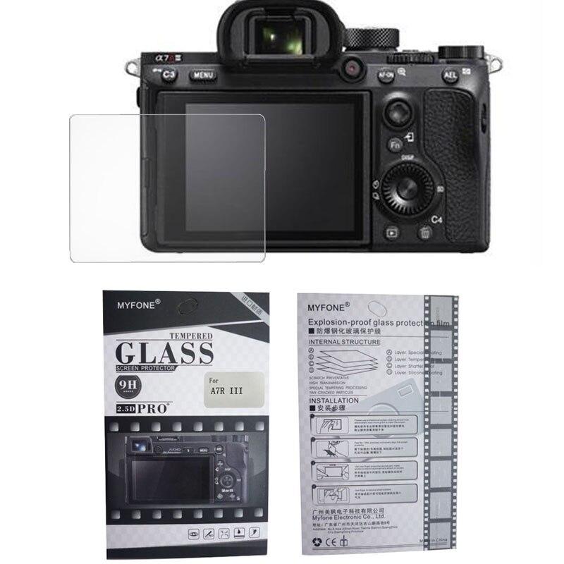Защитное стекло для камеры Sony 5R 5T 3N 6N 7N A7 A7R A7S A7K A7R2 A7S2 A7RM2 A37 A58 A6000 A5000 A5100