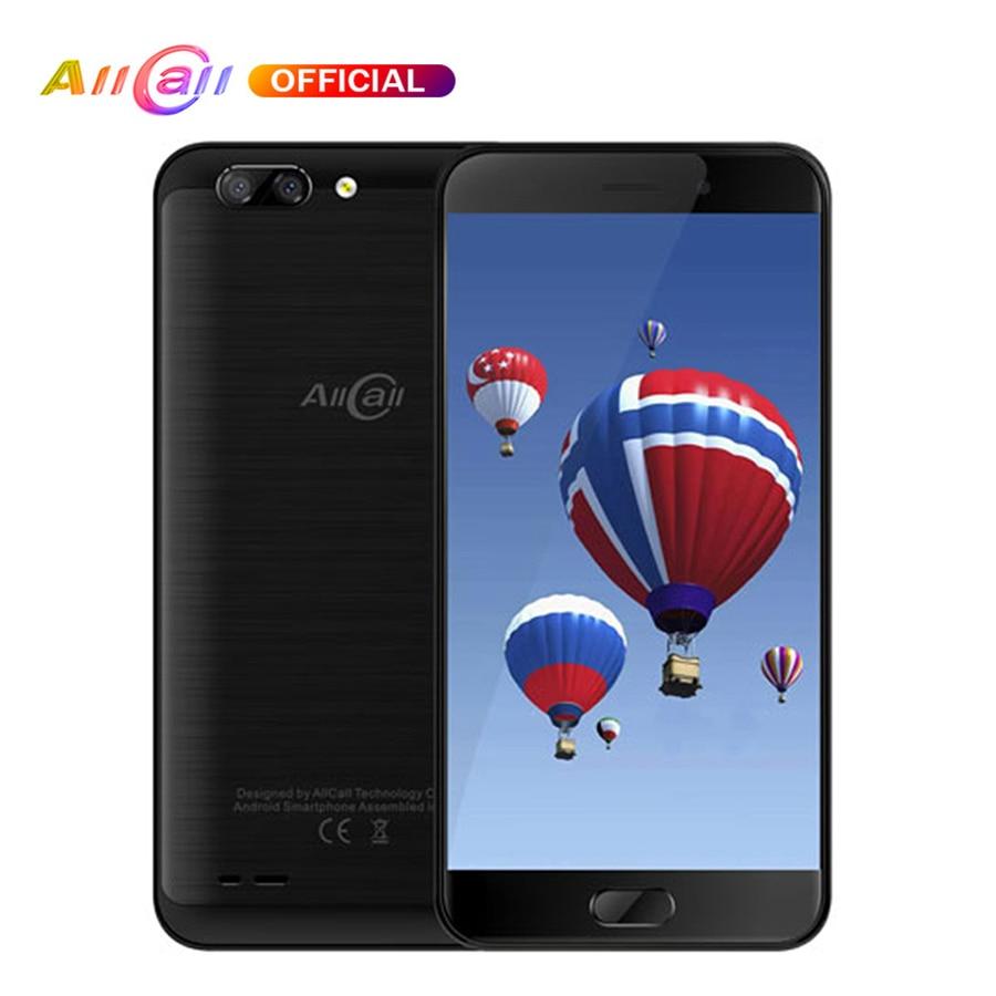 AllCall Atom Android 7.0 Mobile Phone MT6737 Quad Core 2100mAh 2GB+16GB 5.2'' Smartphone 8MP Dual Back Cameras 4G OTG Cellphone