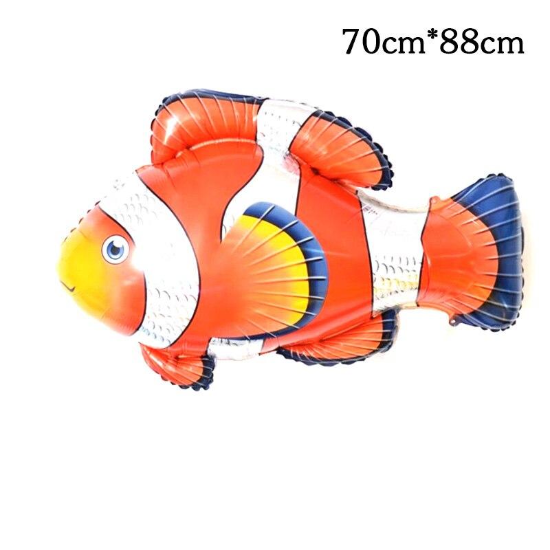 Бесплатная доставка, 1 шт., Немо, в поисках рыбы, воздушные шары из фольги, Globos, детские игрушки, морская тематика, Рождество, день рождения, ве...