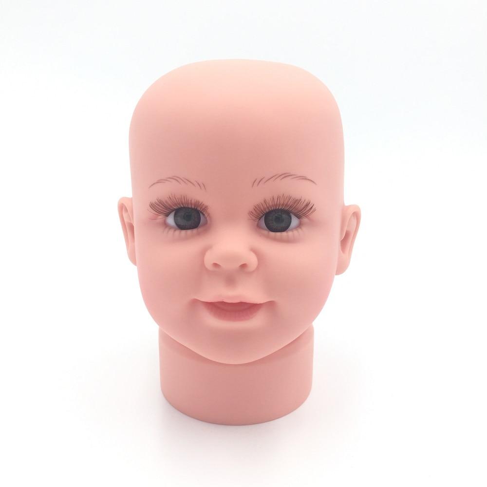 CAMMITEVER Small Child Mannequin Heads Mannequin Boy Plastic Children Manikin Doll For Hat Display