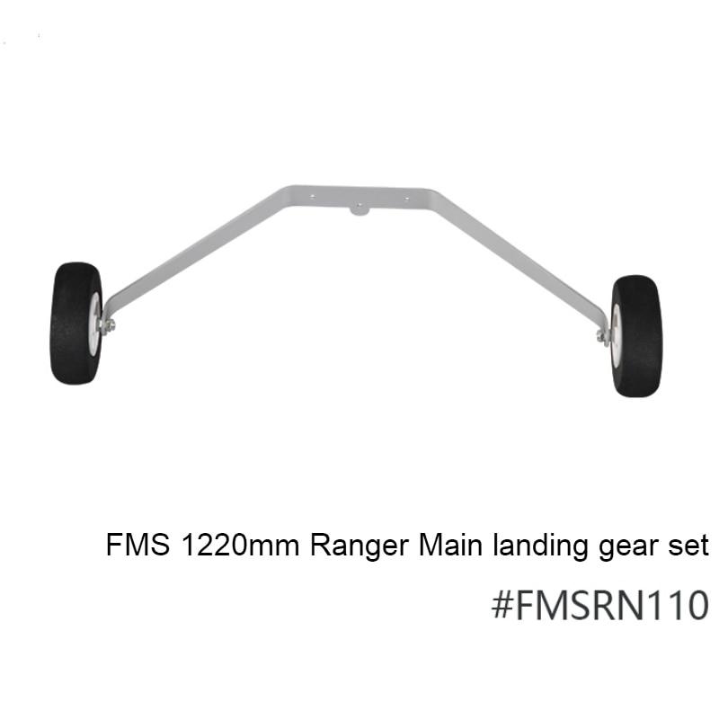 FMS 1220mm Ranger Eğitmen Ana Iniş dişli seti FMSRN110 RC Uçak Modeli Hobi Uçak Uçak Avion Yedek Parça Aksesuarları