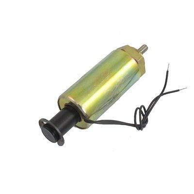 24V CC 1.2A 18mm de carrera 300gf fuerza de empuje tipo Tubular solenoide electroimán XWJ